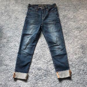 American Eagle Super Hi-Rise Jegging Stretch Jeans